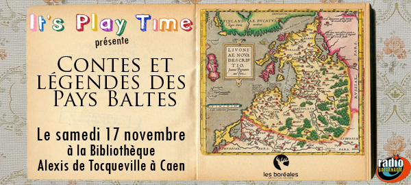 It's Play Time dans la journée Esprit Baltique des Boréales